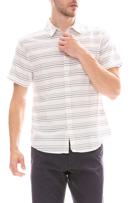 Acapulco Striped Button Down Shirt