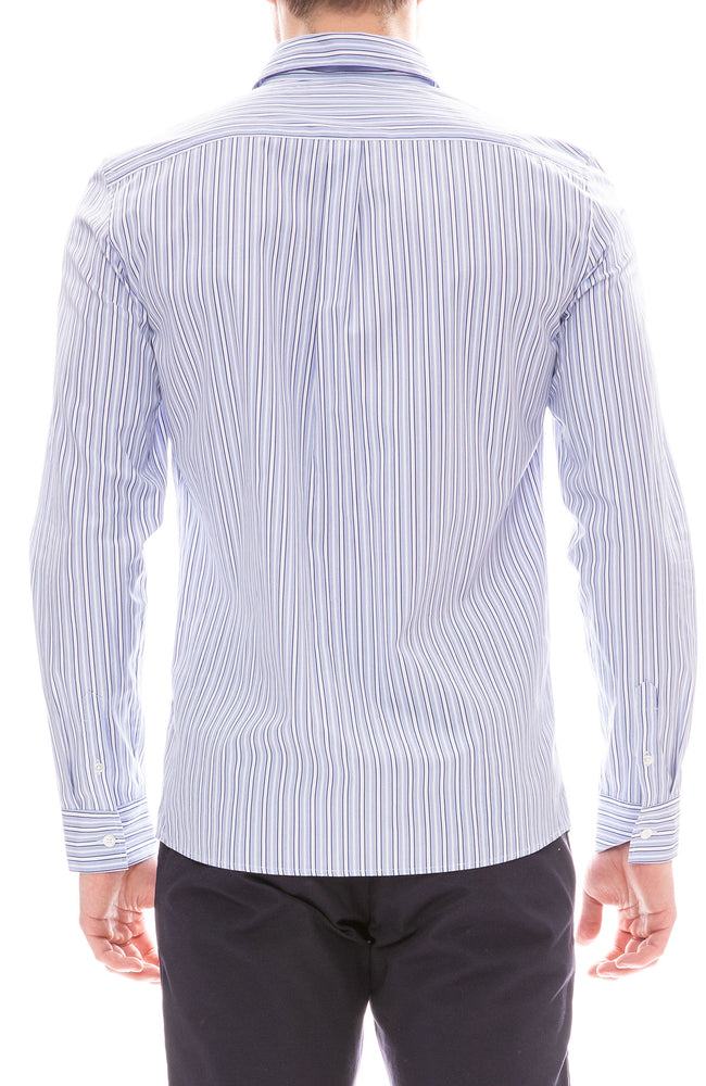 Casper Double Stripe Button Down Shirt