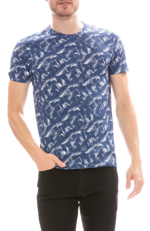 MX Paris by Maxime Simoens Jungle T-Shirt in Ocean Blue
