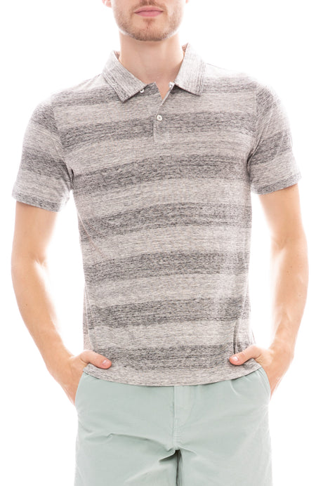 Striped Camp Polo