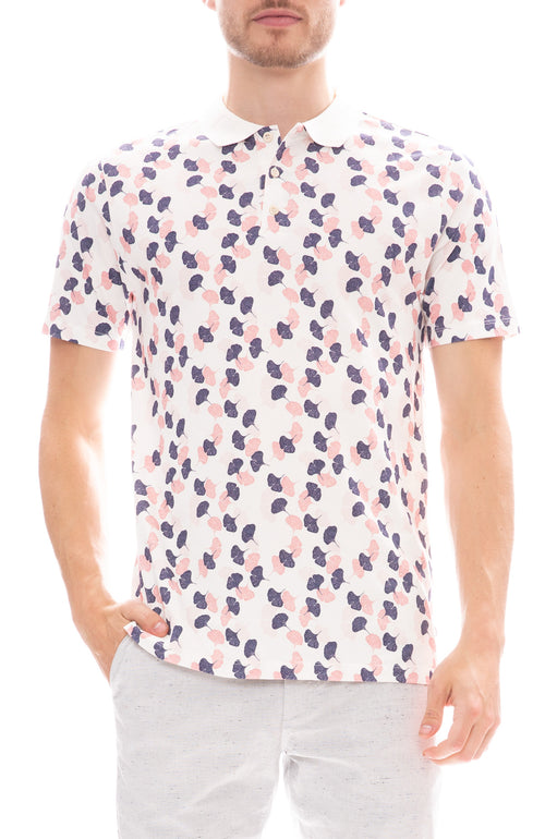 The GoodPeople Ginko Print Game Polo