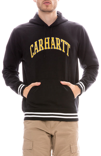 Carhartt WIP Hooded Knowledge Sweatshirt in Black