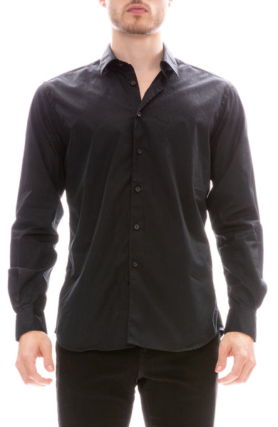 Today Is Beautiful / Ron Herman Exclusive Poplin Button Down Shirt in Black