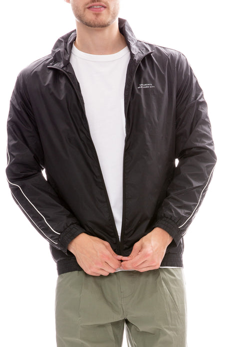 Everett Nylon Track Jacket