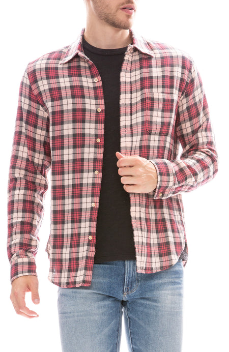 Copy of Double Gauze Plaid Shirt