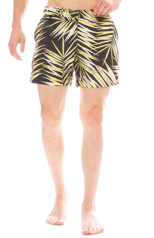 Tiger Palm Swim Shorts