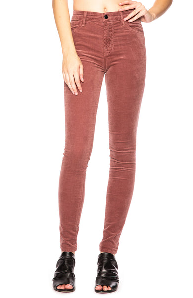 J Brand Maria High Rise Skinny in Warm Sable at Ron Herman
