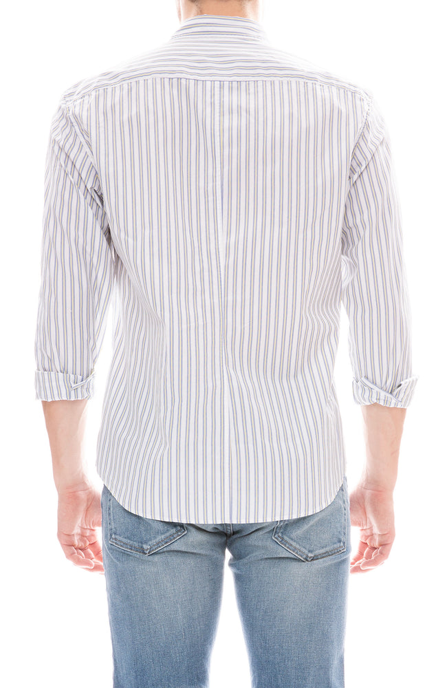 Finbar Striped Cotton Shirt