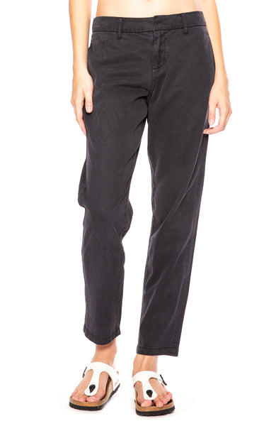 Rails Grayson Straight-Leg Chino Pants in Charcoal at Ron Herman