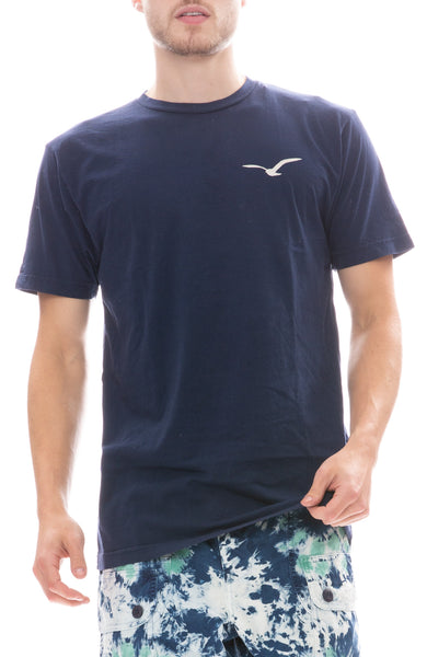Freedom Artists Gulls T-Shirt in Vintage Navy
