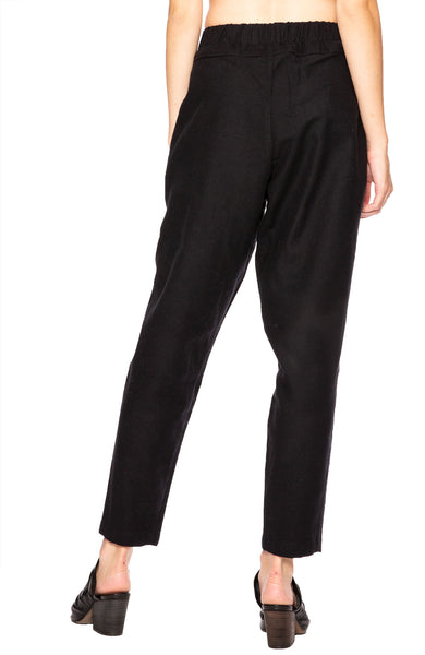 Black Crane Carpenter Pants in Navy at Ron Herman