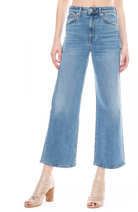 Sunday Wide Leg Cropped Jean in Dream