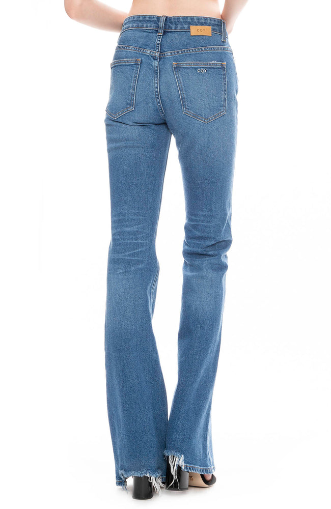 CQY Womens Wes Bootcut Jean in Reverence