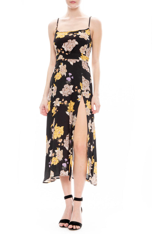 Flynn Skye Hazel Midi Dress in Out of This World Floral