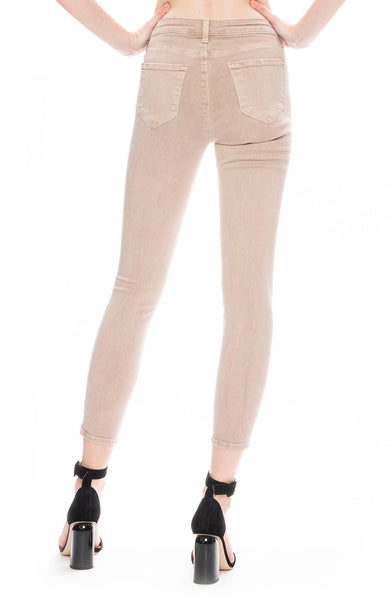 L'Agence The Margot High Rise Skinny in Biscuit