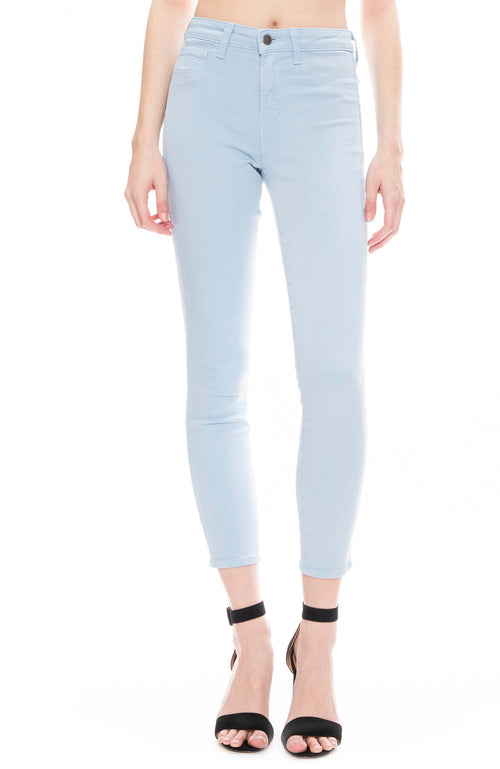 L'Agence Margot High Rise Ankle Skinny in Sky Blue