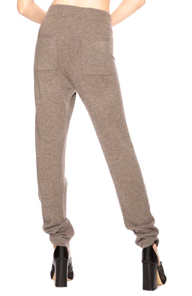 Soyer Frances Cashmere Sweatpants in Otter at Ron Herman