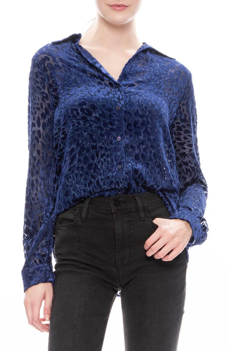 Nina Burnout Blouse