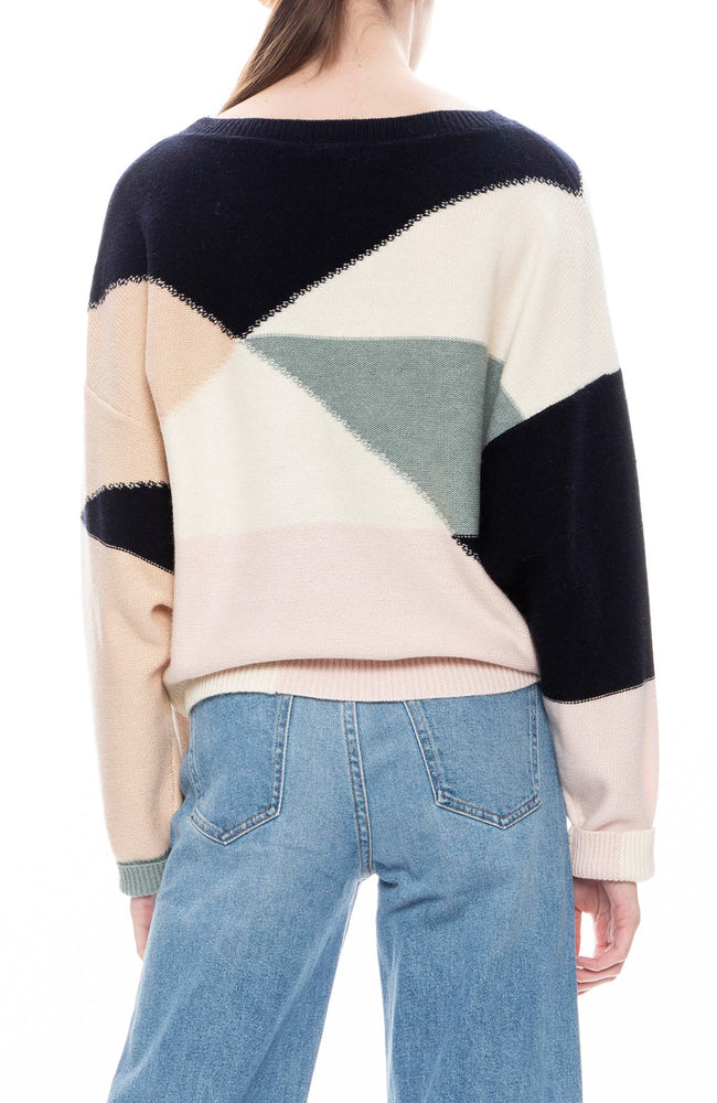 Joie Megu Color Block Sweater
