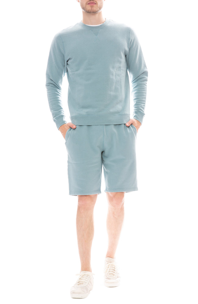 Sunspel Loopback Shorts and Sweatshirt