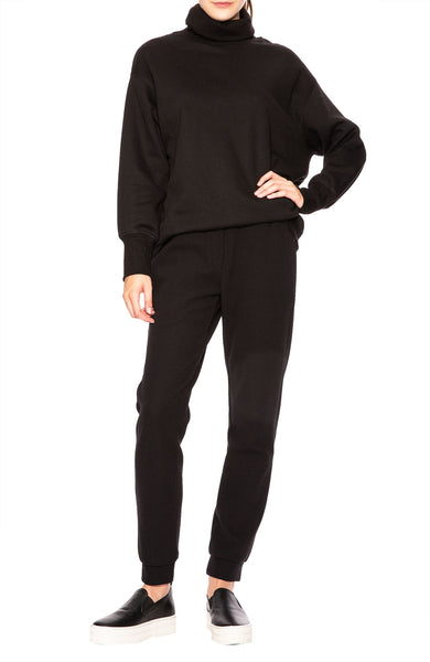Margaux Lonnberg Lowie Pullover Sweater in Black at Ron Herman