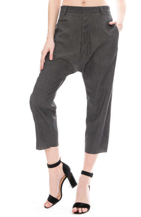 Tailored Drop Trouser Pants