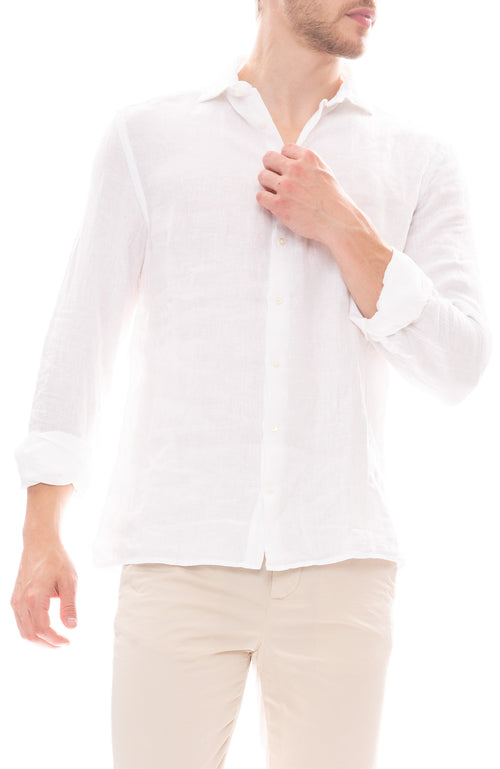 04651/ Relaxed Blend Shirt in White