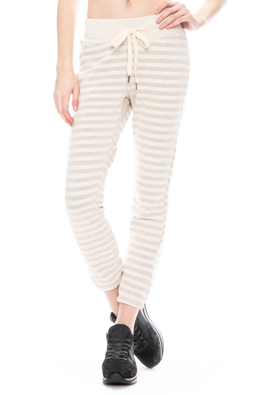 Sayde Sweatpants with Faded Stripes