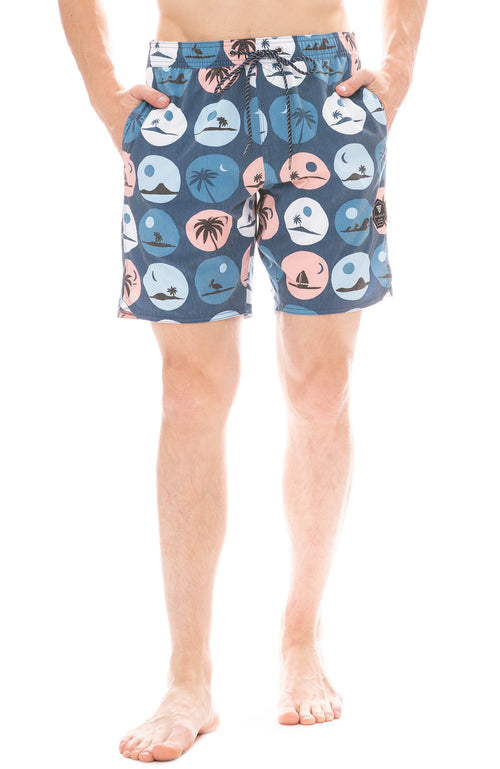 Vissla Radicals Eco-Lastic Board Short in Dark Naval