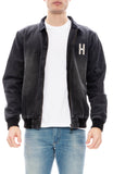 Hotel 1171 Mens Inyo Washed Black Denim Jacket