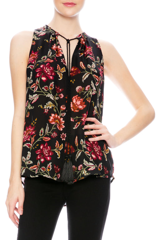 A.L.C. Rowe Floral Top at Ron Herman