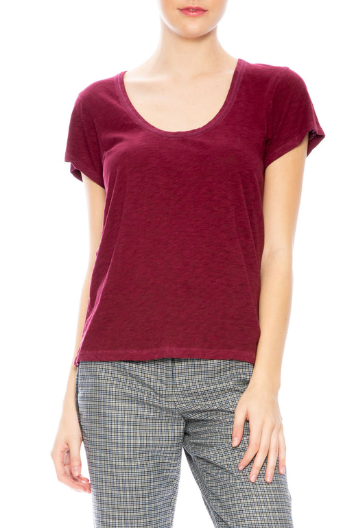 Rag & Bone U Neck Tee at Ron Herman