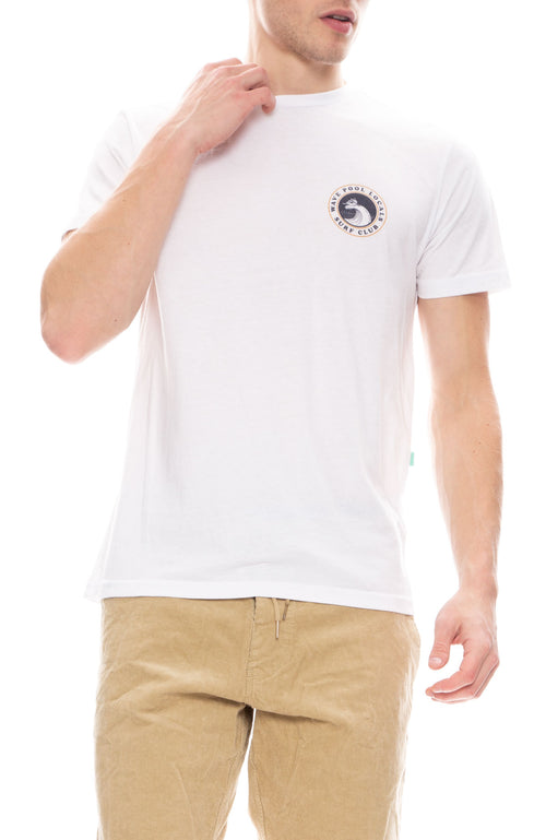 Vissla Pool Locals Everyday Tee in White