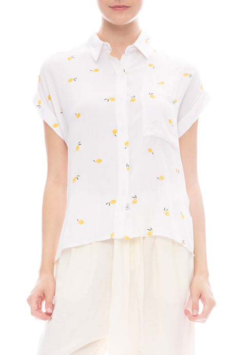 Whitney Citrus Shirt
