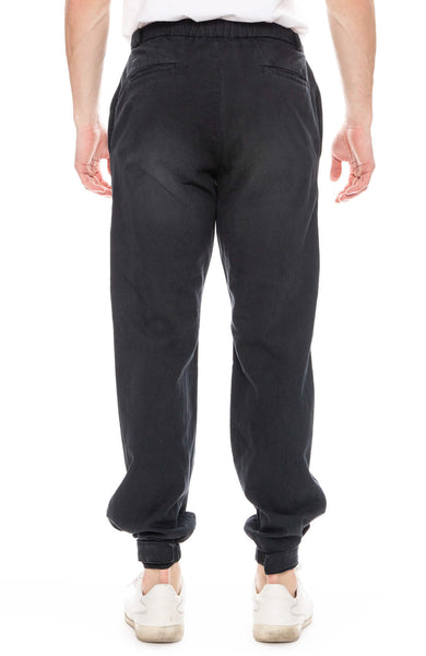 John Elliott Gas Station Trouser Pants in Black