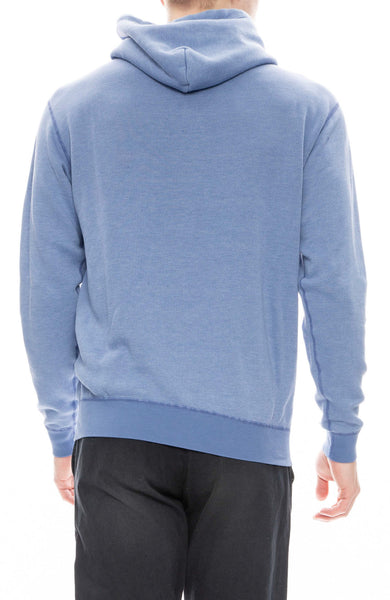 John Elliott Mens Vintage Fleece Hoodie in Blue