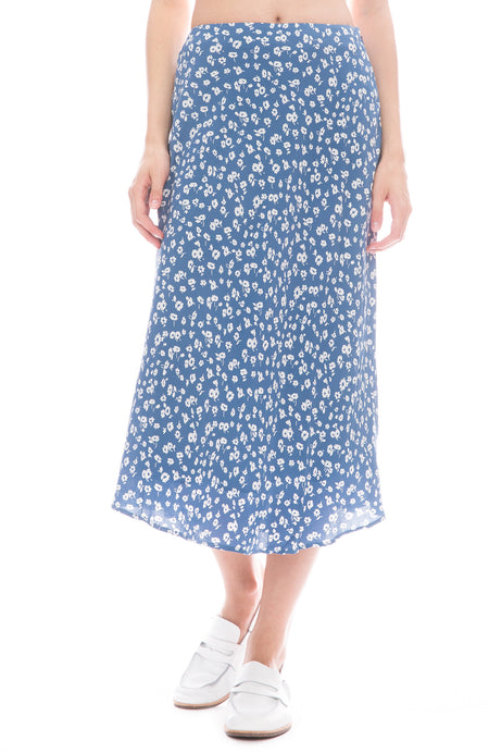 London Midi Slip Skirt