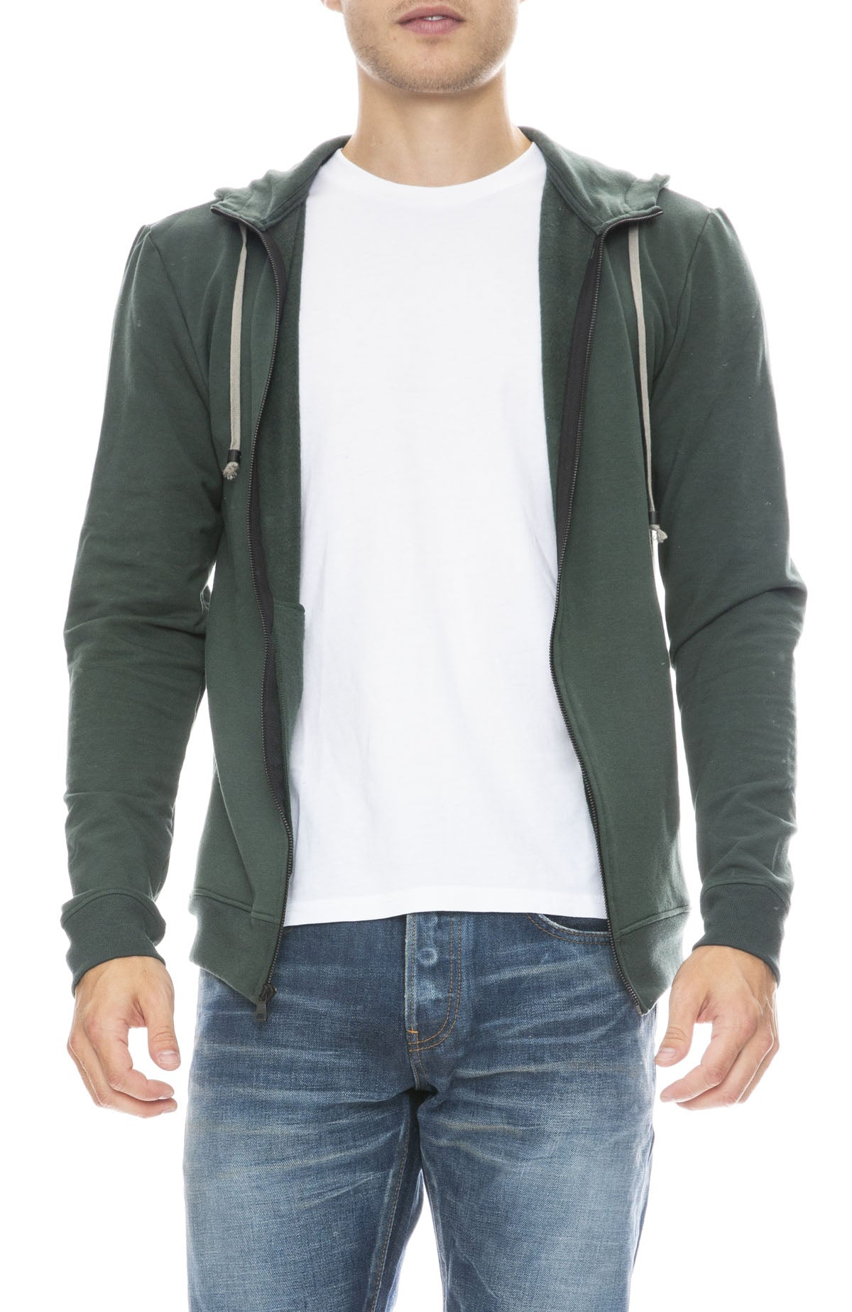 MITCHELL EVAN Zip Up Water Resistant Hoodie