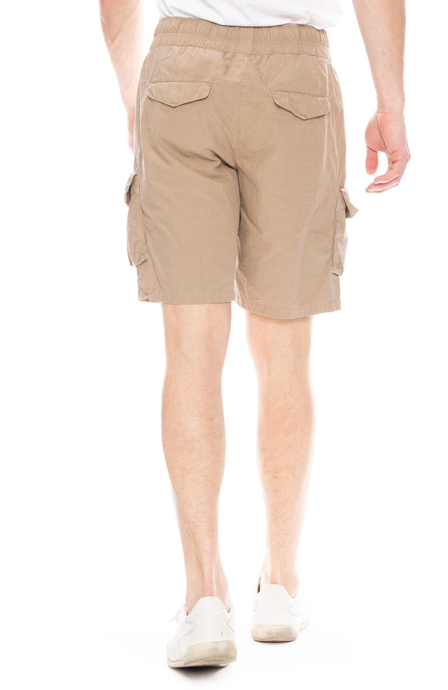 John Elliott Mens Cargo Shorts in Khaki