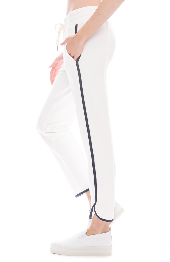NSF Ivy Soft White Dolphin Sweatpants