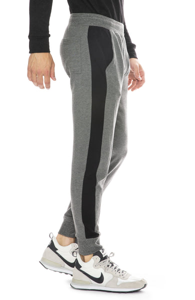 Mitchell Evan Panel Joggers in Grey