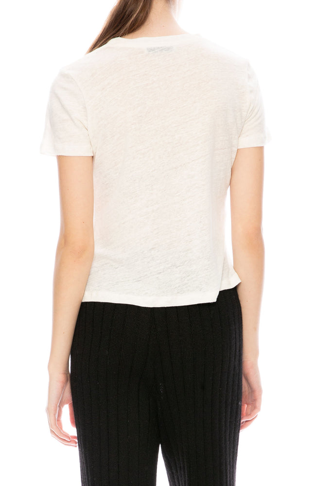 Shaina Mote Classic T-Shirt in Pearl at Ron Herman
