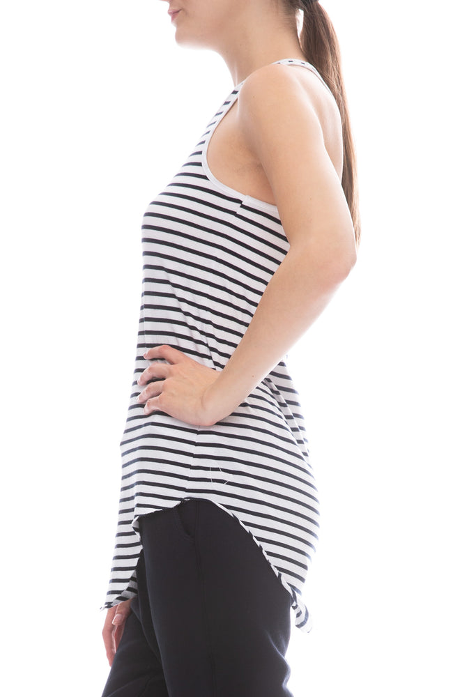Jersey Stripe Tank Top