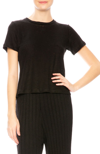 Shaina Mote Classic T-Shirt in Onyx at Ron Herman