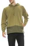 Remi Relief Mens Outdoor Hoodie in Khaki Green
