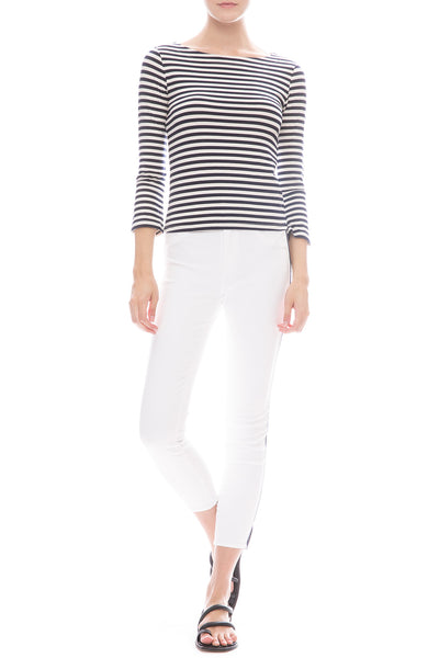 Margot Nautical Stripe Jean