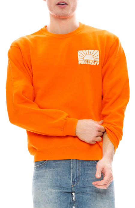 Rays Crew Neck Sweatshirt