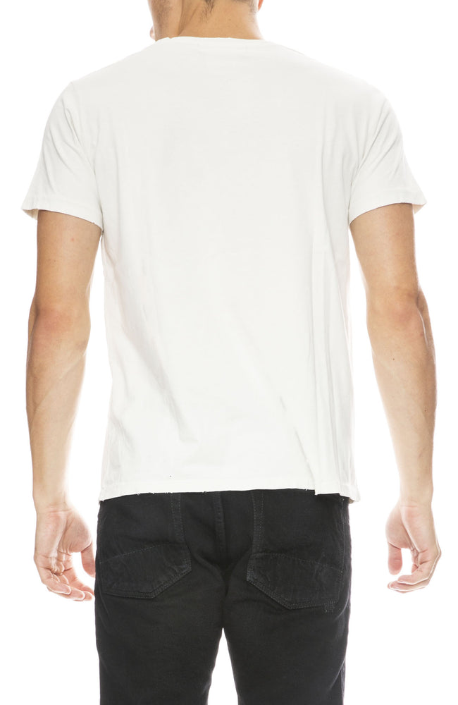 Remi Relief Mens Surf T-Shirt in Off White