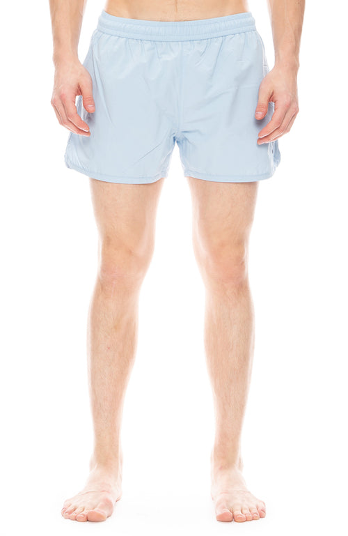 AMI De Couer Swim Shorts in Ciel Blue