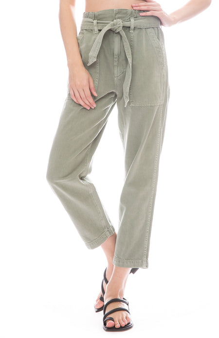 Paper Bag Relaxed Pants